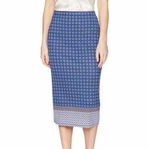 Max Studio Women's Printed Ponte Skirt L